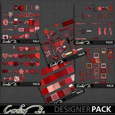 A Tomato Color Bundle 2 - $9.28 : Caroline B., My Magic World of Digital Design