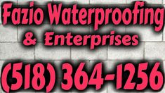 FAZIO WATERPROOFING Foundation waterproofing and leak repair in Albany & Schenectady NY. We fix foundation and basement water problems. Solutions for wet leaky walls, leaking wall cracks, & foundation drainage. Sump Pump Drainage, Rainwater Drainage, Gutter Drainage, Drainage Pipe, Leaking Basement, Basement Waterproofing, Drainage Solutions, Drainage Ideas, Window Well Installation