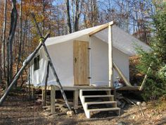 Great Canopy for Back Yard...Prospector's Tent