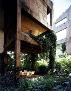 "Old Cement Factory in Spain. ""To be an architect means to understand space, to understand space organized by man, to decipher the spontaneous movements and behavior of p..."