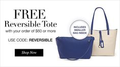 How cute is this bag??!! FREE Reversible Tote with $60 order now. https://makeupobsessedmom.avonrepresentative.com/