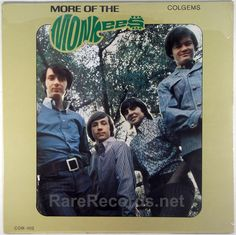 "Monkees - More of the Monkees (Colgems; 1967) The Monkees' second album in only three months became their second #1 LP, with the hit ""I'm a Believer."" The copy shown is still sealed original mono pressing. #records #vinyl #albums #LP Click here to learn more about this record: http://www.rarerecords.net/store/monkees-more-of-the-monkees-sealed-mono-1967-lp/"