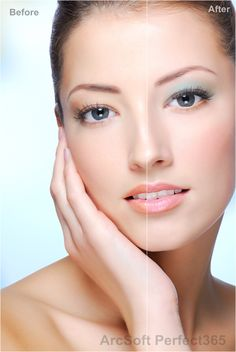 Glam makeup from virtual makeup software ArcSoft #Perfect365.  http://perfect365.arcsoft.com/?from=pinterest