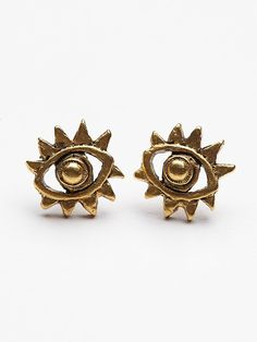 Amano Studio Evil Eye Studs at Free People Clothing Boutique