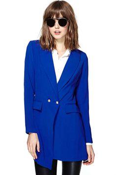 Buzzword Blazer   Shop Jackets + Coats at Nasty Gal