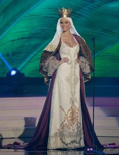 The national costume of Spain at the Miss Universe contest