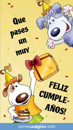 Tarjeta para whatsapp de Dia de Cumpleaños - Ingresa desde tu movil y descarga tus tarjetas para enviar por whatsapp Unique Birthday Wishes, Happy Birthday Wishes Cake, Birthday Wishes Messages, Happy Birthday Greetings, Birthday Quotes, Birthday Cards, Good Morning Messages, Happy B Day, Morning Greeting