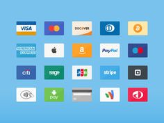 Payment Icons - Free Download