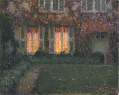 Autumn Twilight by Henri Le Sidaner