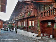 Brienz Switzerland, the Wood Carving Village