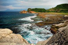 Kapurpurawan Rock Formation, Burgos, Ilocos Norte, Philippines