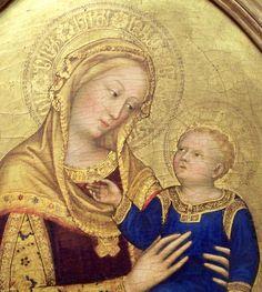 Virgin and Child GENTILE DA FABRIANO Gentile di Niccolò di Giovanni di Massio (Fabriano, 1370 circa – Roma, settembre 1427) #TuscanyAgriturismoGiratola