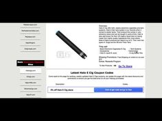 Halo e cig coupons Weekly Updated https://youtu.be/WYS73j0kKXE Halo cigs