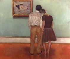 Lovers Lautrec by Joseph Lourusso In Bed The Kiss by Henri de Toulouse-Lautrec