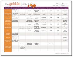 Thanksgiving Planner Free Printable