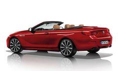 #BMW #Serie6Cabriolet.  La capote épouse harmonieusement la ligne de caisse. Le poste de conduite arbore un design sportif.  Les lignes de ce cabriolet est au service de l'aérodynamisme.