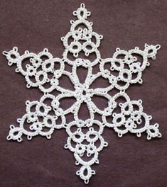 Tatting Fool: Elegant Snowflake