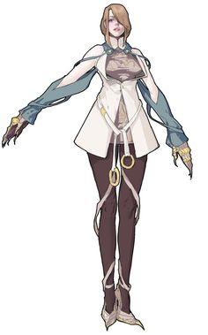 Female from Mabinogi II: Arena