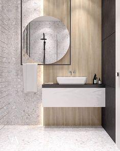 zen Bathroom Decor Kitchen designed by arteim_studio – Marble Bathroom Dreams Zen Bathroom Design, Bathroom Interior Design, Modern Bathroom, Small Bathroom, Bathroom Ideas, Contemporary Bathrooms, Bathroom Grey, Industrial Bathroom, Interior Livingroom