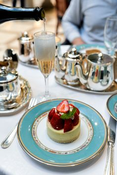 Champagne Tea at the Alvear Palace Hotel, Buenos Aires // Via Stacie Flinner