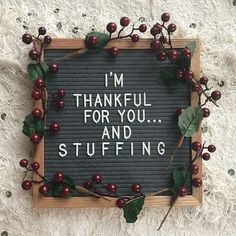 We decided to deck the halls a bit earlier than normal this year! So we've got…, - Thanksgiving Messages Word Board, Quote Board, Message Board, Thanksgiving Messages, Thanksgiving Decorations, Happy Thanksgiving, Felt Letter Board, Letter Wall, Happy Sunday Everyone