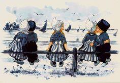 Delft Blue Children 7