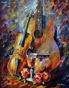 Music paintings by Leonid Afremov - https://afremov.com/Music/