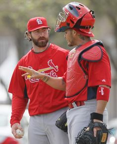 """The """"Closer"""" and the catcher....best combo in baseball."""