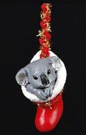 *NEW* Christmas Tree Koala in stocking Decoration-Australian Native-Animal