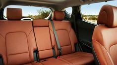 Hyundai's 2015 Santa Fe remains as utilitarian as a minivan while retaining a personality Hyundai Santa Fe Sport, Sports Gallery, Sport 2, Saddle Leather, Digital Trends, Leather Interior, Hot Cars, Car Seats