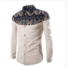 Cheap hommes shoes, Buy Quality shirts hawaii directly from China shirt set Suppliers: 2017 brand clothing Men Shirt Slim fit Plus size Male social masculina Casual Shirt chemise homme marque camisa hombre African Men Fashion, Ethnic Fashion, Mens Fashion, Fashion Site, Floral Fashion, Fashion Wear, White Dress Pants, Mens Dress Pants, African Shirts