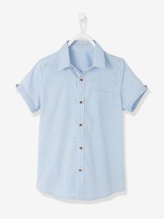 Chemise garçon imprimée blanc imprimé - Un imprimé cachemire très élégant pour  toutes les occasions. be59fcd07894