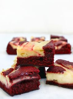 Since Valentine's Day is right around the corner, I figured out I'd make something a little bit festive. These brownies are ridiculously good. They've got the perfect amount of chocolate and the cheesecake swirl just makes them extra moist and over the top. Plus, they're red, which puts anyone in the Valentine's Day mood. I…