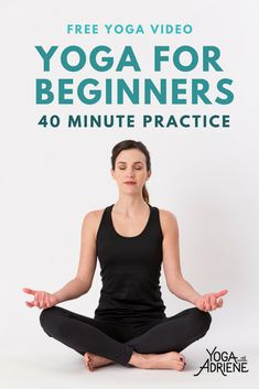 Yoga for Beginners! This sequence is beginner friendly and with a focus on FOUNDATION and FLEXIBILITY. Hop on the mat and start to build the foundation of your own yoga practice with this 40 minute Yoga For Beginners video!