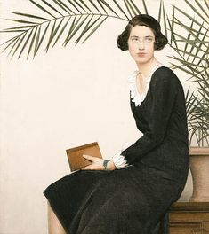Bernard Boutet de Monvel (1881-1949) –Portrait of Virginia Shaw ,1930 (512×574)