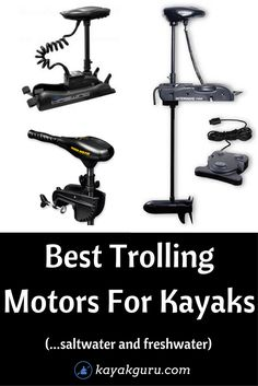 Best Trolling Motor For Kayaks - We talk about the different types of motors available power output and why you might need one. Best Trolling Motor For Kayaks - We talk about the different types of motors available power output and why you might need one. Kayak Fishing Gear, Fly Fishing Tips, Kayak Camping, Canoe And Kayak, Best Fishing, Fishing Rigs, Accessoires Kayak, Kayak For Beginners, Kayaking Tips