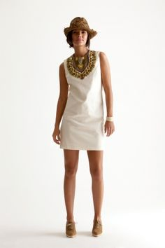 Daishiki Bib Dress, Calypo St. Barth