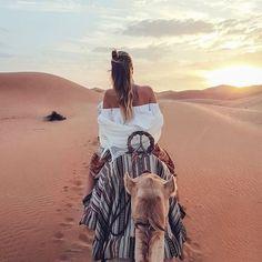 Keep moving forward . Follow us @ultimatelavish . #travel #desert #sand #photography #world #explore #camel #ride #sunset #sun #view #views #vegan #raw #nature #naturephotography #naturelovers #natural #blonde #motivationalquotes #motivation #keepgoing #believe #animal #styleblogger #aesthetic #fashion #likeforlike #followforfollowback #wednesdaywisdom
