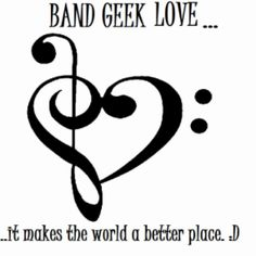 Band Love...I find myself only dating Band kids...i guess there is nothing wrong with that!