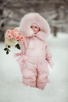Decore Sua Mente, Seu Corpo E Seu Espaço: Looks De Inverno Para Meninas De 0-4 Anos: Muito E...