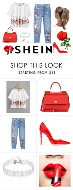 """""""Bez naslova #51"""" by sejlabrkic ❤ liked on Polyvore featuring Dolce&Gabbana, MANGO, Gianvito Rossi and Love Couture"""