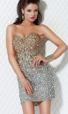 Jovani dress, *gasp* so beautiful <3