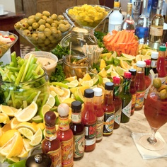Bloody Mary bar!!!
