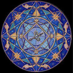 Mandala by Sandra Joran - Sagittarius Sagittarius Star Sign, Sagittarius Traits, Libra, Zodiac Art, Astrology Zodiac, Zodiac Signs, Image Symbols, Jupiter Moons, Zodiac Elements