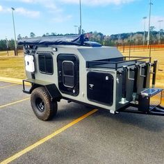 Heavy duty off road camper. The Drifter Trailer is perfect for camping and exploring vacation rentals available off road teardrop trailer Small Camping Trailer, Off Road Camper Trailer, Truck Camper, Camper Trailers, Offroad Camper, Trailer Tent, Trailer Build, Travel Trailers, Off Road Teardrop Trailer