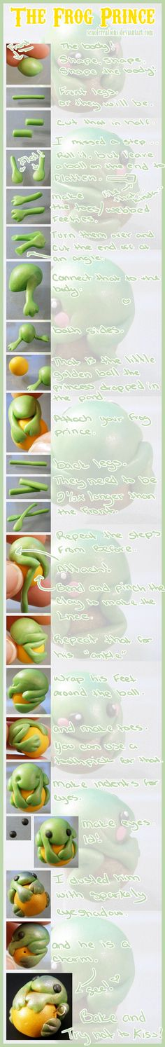 The frog prince tutorial from SeaOfCreations,  Use the pictures the website link is no help