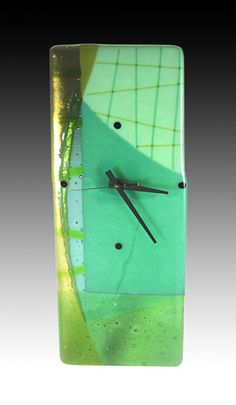 Did you know that you can make anything into a clock-just drill a hole in it.  created by: Nina Cambron