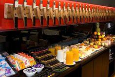 montaje de buffet desayuno - Buscar con Google Sushi, Google, Breakfast, Restaurants, Theater, Sushi Rolls