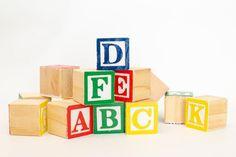 Wooden Alphabet Blocks Alphabet Blocks Toy Wood Blocks | Etsy