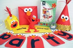Kid's party Elmo theme